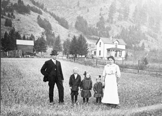 The Akerson family settled early in the Piltzville area.
